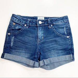 Hudson Big Girls Collin Cuffed Denim Shorts